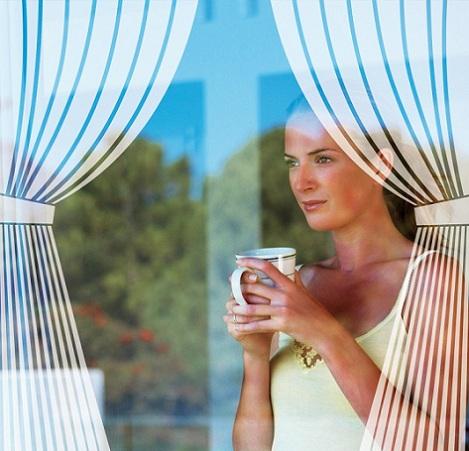 vinilos cristal cortinas