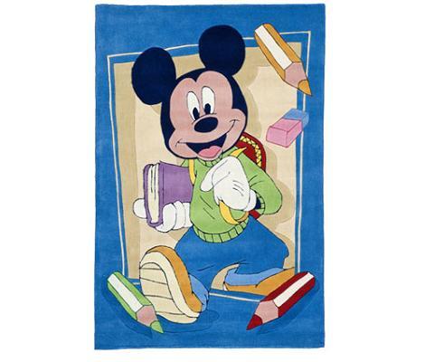Alfombra Mickey en el cole