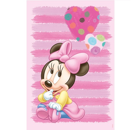 alfombras ninos disney minnie
