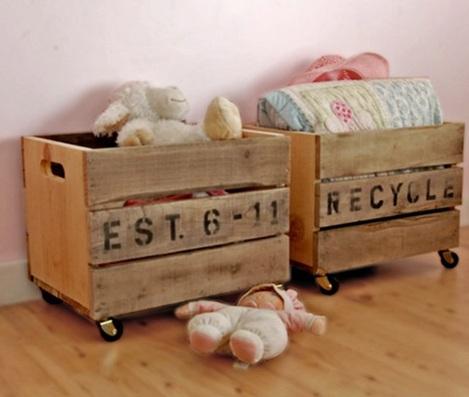 almacenaje habitacion bebe cajas