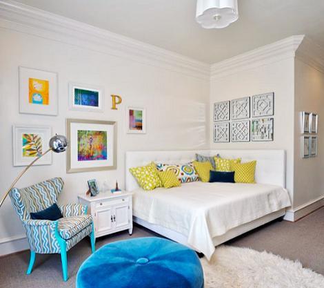 Bonita habitación juvenil