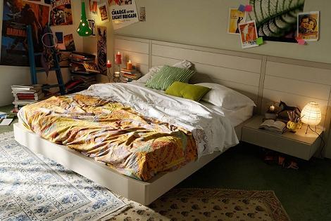 Dormitorio juvenil inspirado en cine