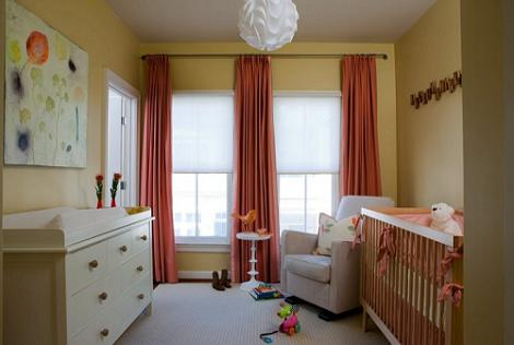 Dormitorio moderno de bebé