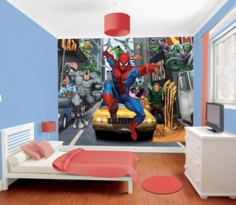 fotomurales infantiles spiderman