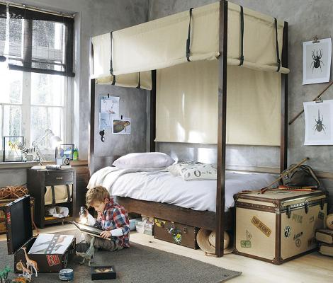 Habitación con baúl