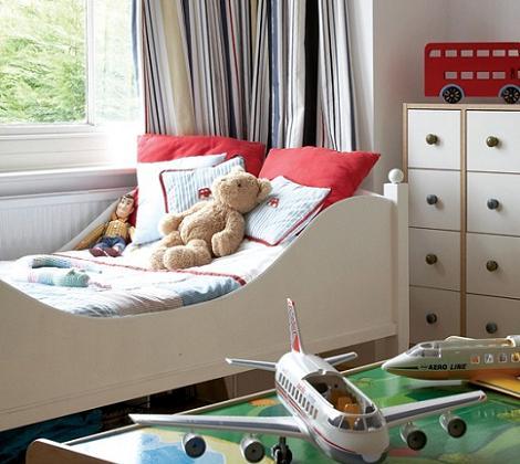 Habitación pequeña para niño