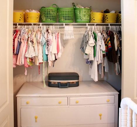 habitaciones gemelos armario