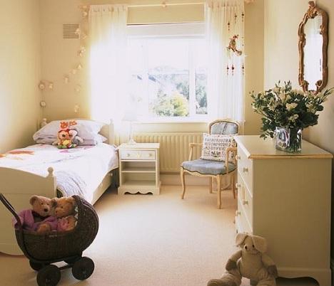 ideas decorar habitacion nina beige