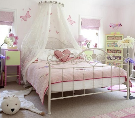 ideas decorar habitacion nina dosel