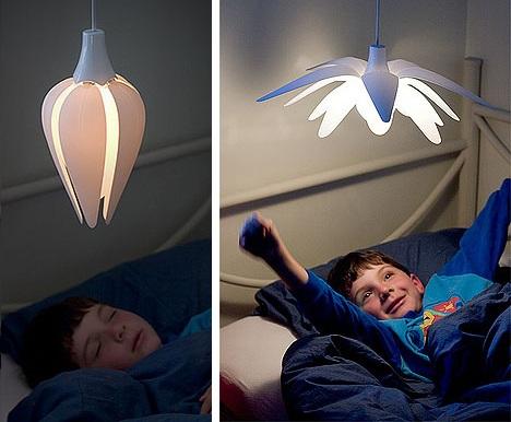 lamparas originales nino flor