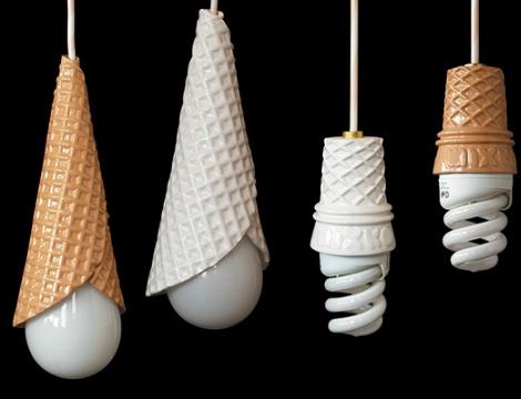 lamparas originales ninos helados
