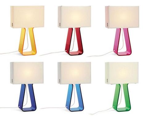 lamparas originales ninos mesilla colores