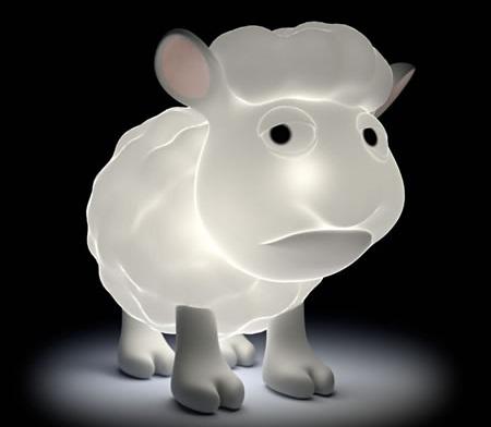 lamparas originales ninos oveja