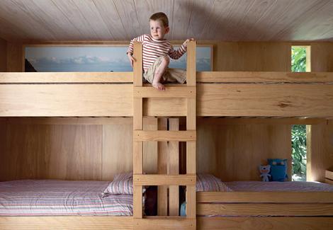 Literas habitaciones para tres