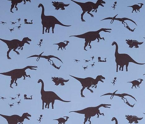 papel infantil dinosaurios