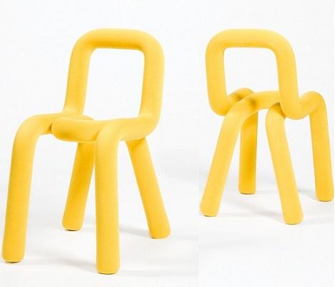 sillas ninos amarilla
