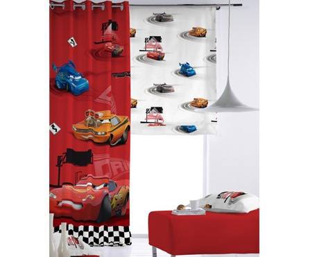 cortinas infantiles disney cars