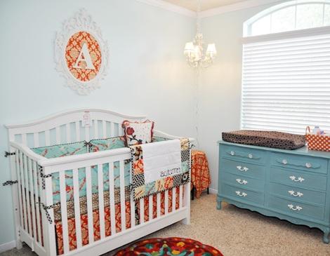 decorar habitación bebé moderna patchwork