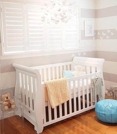 Decorar habitaci n de beb moderna - Decorar la habitacion del bebe ...