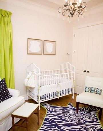 decorar habitación bebé moderna