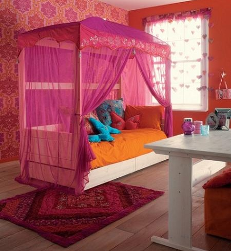 dormitorio princesa naranja