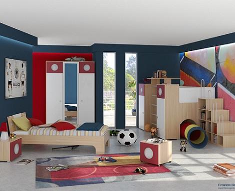 dormitorios juveniles chico color