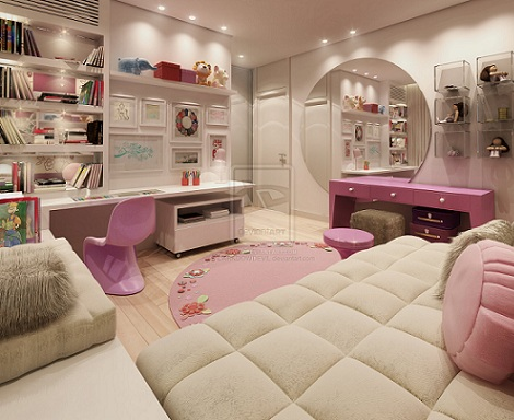 dormitorios juveniles inspiracion chica