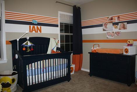 Habitación bebé oscura