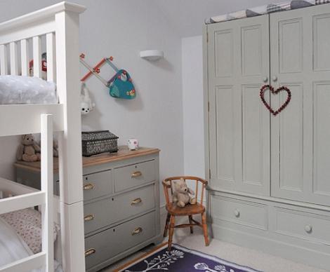 Habitación clásica para niños