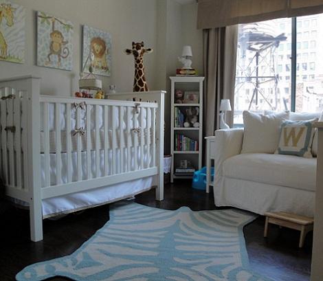 habitaciones bebe nino alfombra