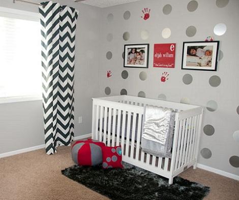 habitaciones bebe niño retro