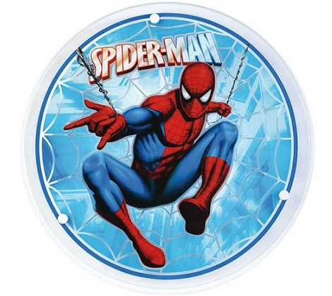lamparas infantiles disney spiderman