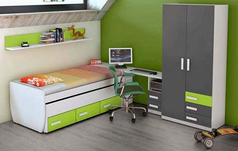 Dormitorios juveniles de merkamueble for Sillas escritorio juvenil leroy merlin