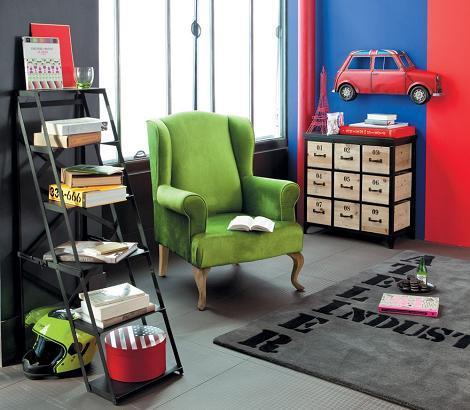 Dormitorio infantil industrial