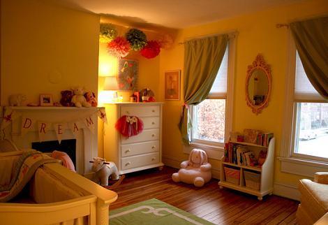 Dormitorio vintage bebé