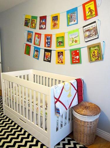 Mural en la habitación infantil