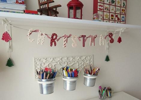 Decoración infantil de Navidad