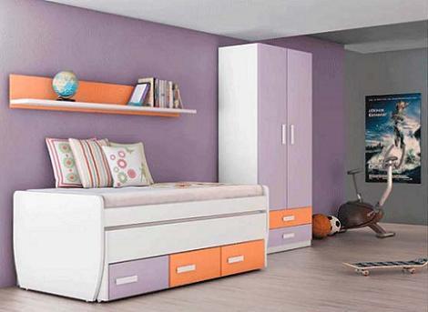 Dormitorio infantil Merkamueble