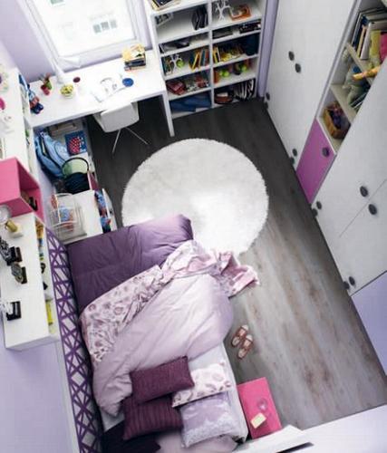 Dormitorio Kibuc para chica