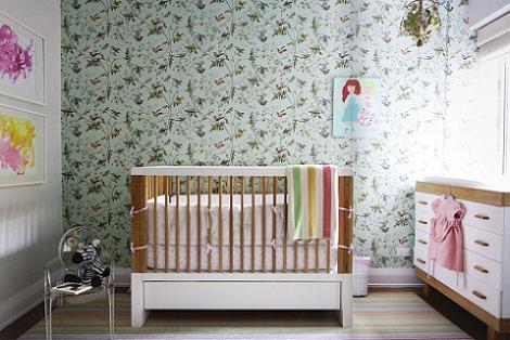 Habitación bebé nórdica