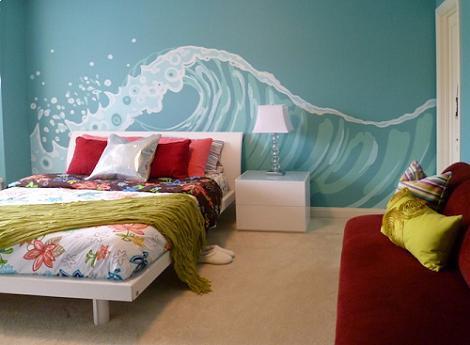 Murales para la habitaci n juvenil - Paredes habitacion juvenil ...