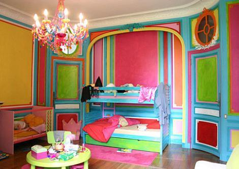 Dormitorio imfantil de colores