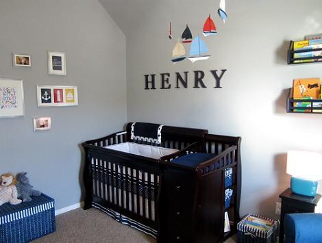 Dormitorio náutico de bebé