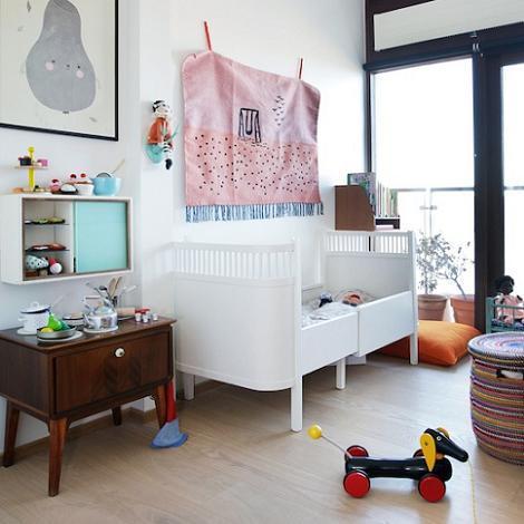 Dormitorio de niño nórdico