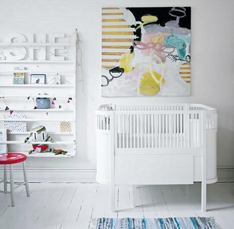 Habitación de bebé moderna