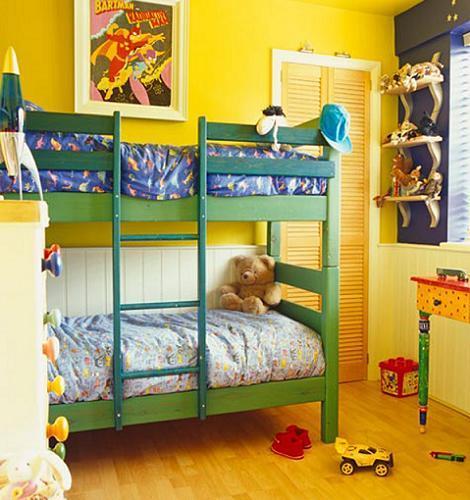 Habitación de colores para niños