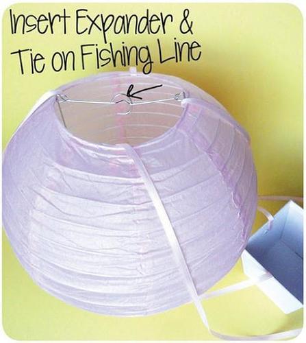 Lámpara globo paso 4