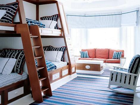 Dormitorio juvenil 4 camas