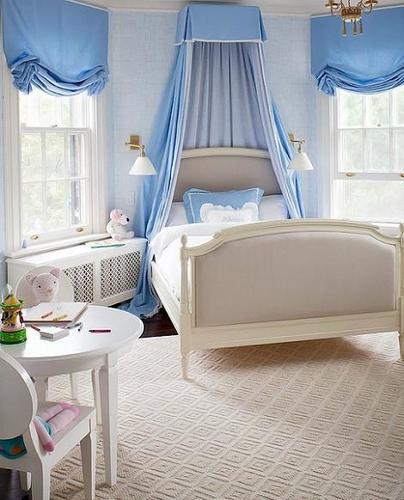 Dormitorio clásico niña