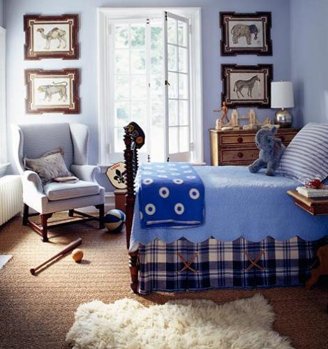 Dormitorio clásico niño